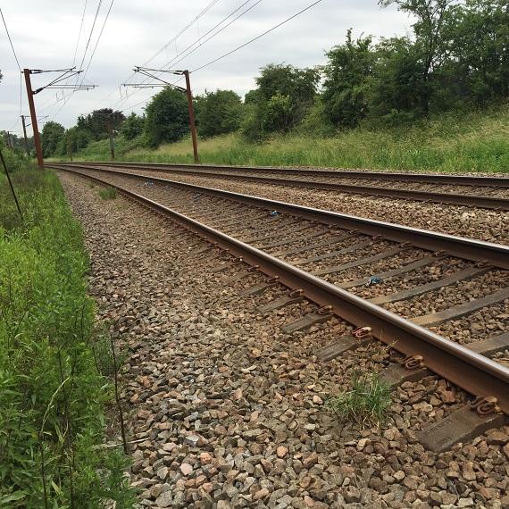jernbanetrace af spor