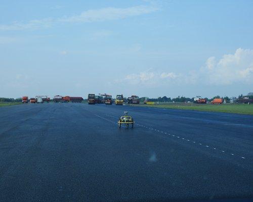 Landmåling | Afsætning | Landmålingsrobot | Landingsbane