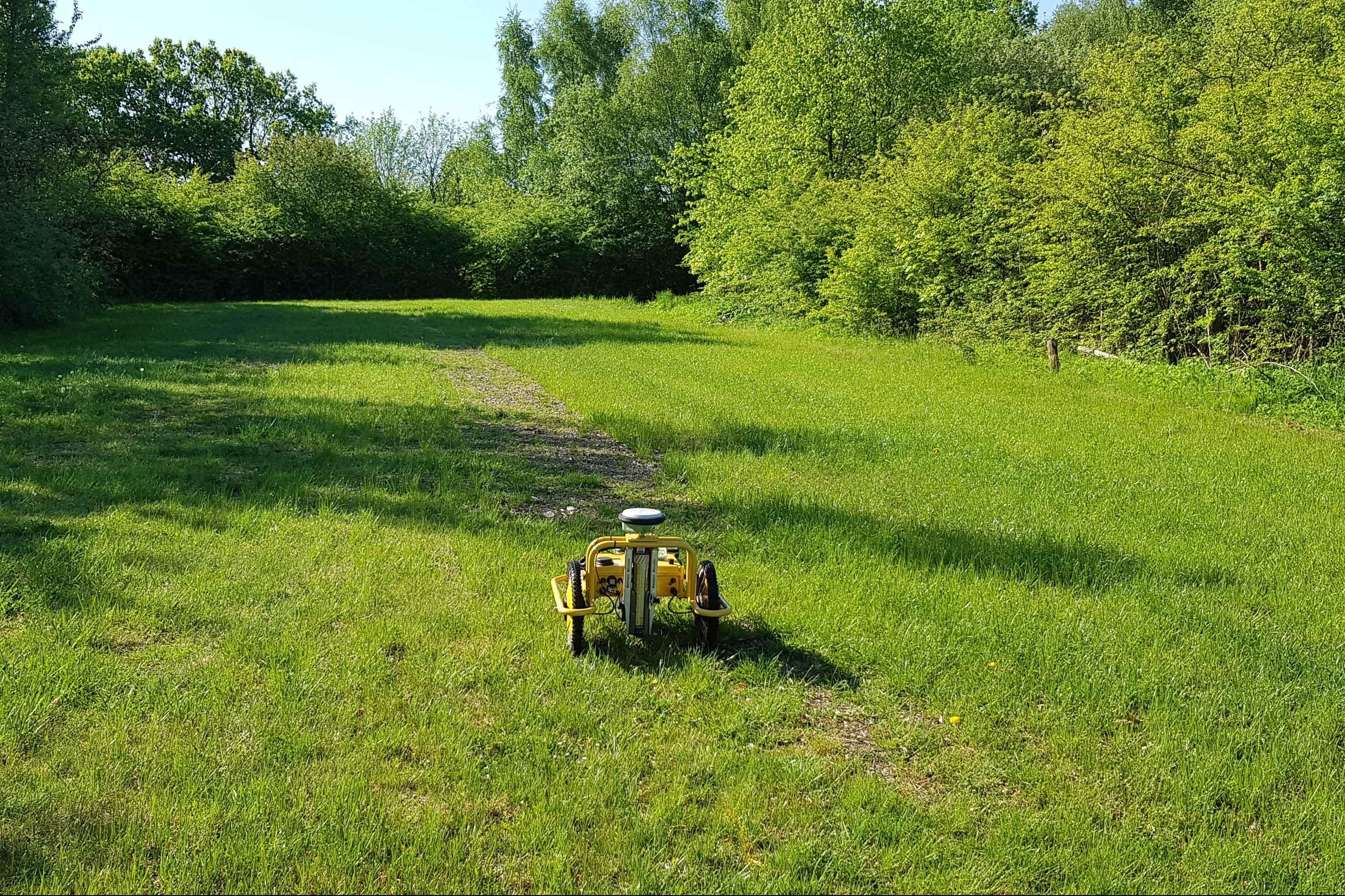 Landmåling | Afsætning | Landmålingsrobot | Landskab